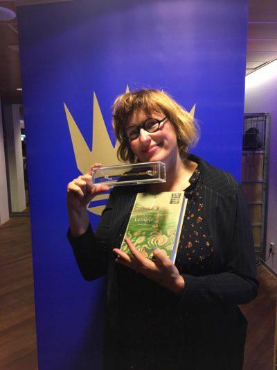 Annet Schaap 'Lampje' in de prijzen