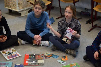 Leesbevorderende activiteiten in de klas