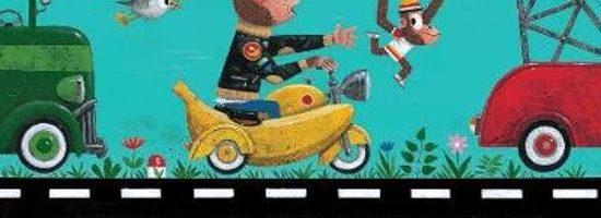 New York Times plaatst 'Aap op straat' in top 10 van beste prentenboeken